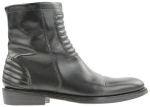 Surface to Air Moto Motorcycle Biker Ankle Black Boots