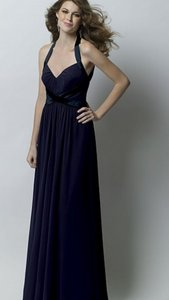 Watters Indigo (Navy Blue) Formal Bridesmaid/Mob Dress Size 10 (M)