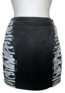 Charlotte Ronson Mini Skirt Black