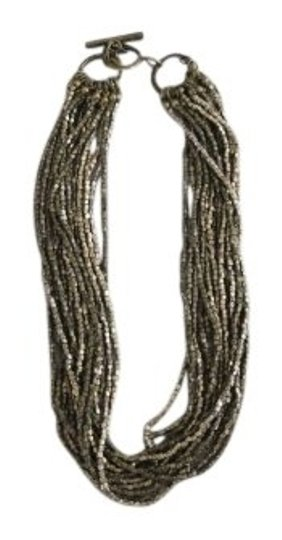 Martin + Osa Multi Strand Gold Necklace