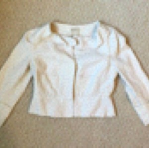 Elevenses Cream Blazer