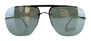 Tom Ford New Tom Ford TF 380 09Q Nils Gunmetal Aviator Full-Frame Mirror Lens Sunglasses 61mm Made in Italy