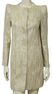 Tibi Metallic Gold Jacket
