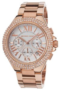 Michael Kors Michael Kors Rose Gold Camille Chronograph Watch