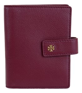 Tory Burch Tory Burch Burgundy Color Passport Holder