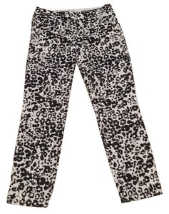 J.Crew Straight Pants Black and White