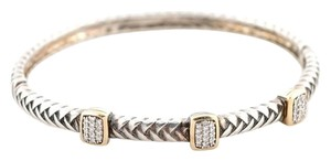 VAHAN Alwand Vahan sterling silver diamond bangle bracelet