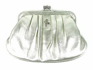 Cole Haan Cornelia Ii White Gold Clutch