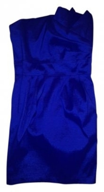 Preload https://item5.tradesy.com/images/papaya-royal-blue-satin-form-fitting-asymmetrical-neckline-mini-cocktail-dress-size-6-s-15599-0-0.jpg?width=400&height=650