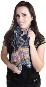 Private Collection Unique Print Scarf