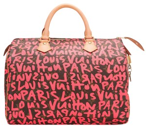 Louis Vuitton Speedy Graffiti Satchel