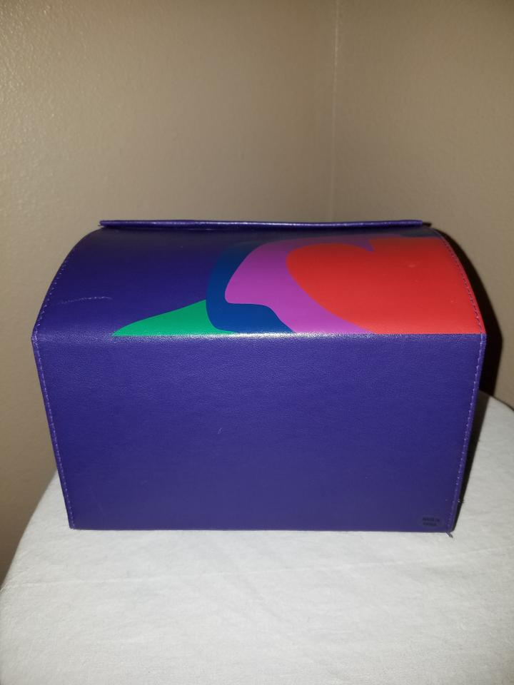 Marc by marc jacobs purple lola treasure chest box display for Decor 720 container