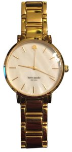 Kate Spade Kate Spade New York Women's Gramercy Gold-Tone Bracelet Watch - 1YRU0002