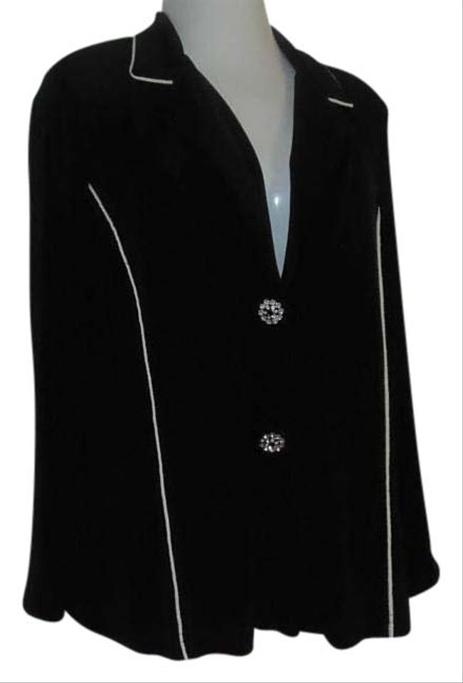 black blazer with white trim for mens. Women's Texture Knit Long Sleeve Contrast Trim Blazer Jacket. Shop the latest collection of mens black blazer white trim from the most popular stores all in one.