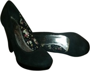 Chinese Laundry Suede Night Out Date Night Black Pumps