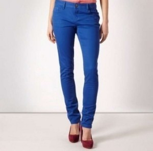 Hollister Capri/Cropped Pants Royal Blue