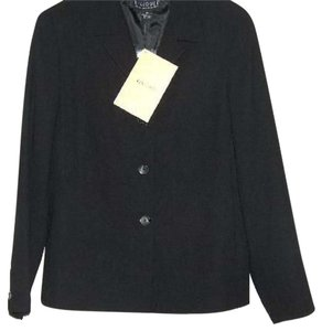 QVC Dialogue Twinstretch Crepe Lined Nwt Black Blazer