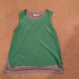 Robert Rodriguez Top Green & Grey