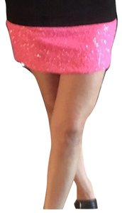 MM Couture Mini Skirt Pink
