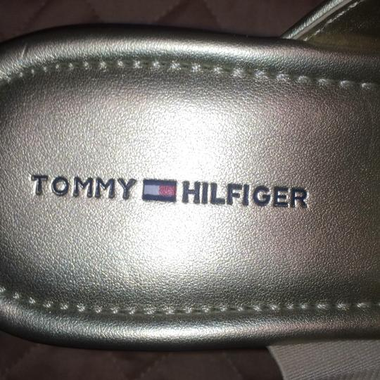 Tommy Hilfiger Gold Mules Image 5