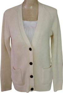Gap Ribbed V Neck Cardigan