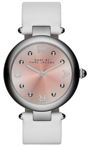 Marc by Marc Jacobs Marc by Marc Jacobs MJ1407 White/Pink Leather Watch