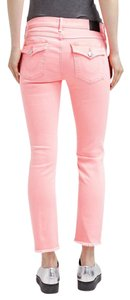 True Religion Orange Skinny Jeans-Light Wash