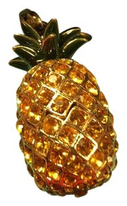 Juicy Couture *SALE* JUICY COUTURE SUPER RARE 2004 STUNNING YELLOW PAV DIAMOND PINEAPPLE CHARM.