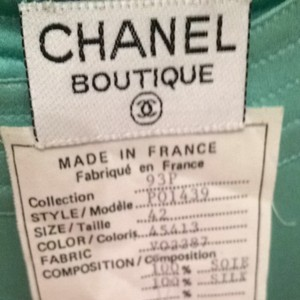 Chanel T Shirt Mint green