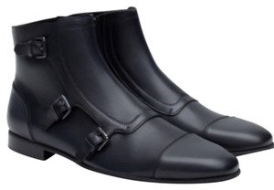 Zara Men Ankleboot Ankle Dark navy Boots