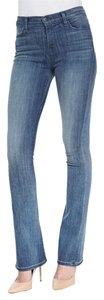J Brand Remy Slim Fit High Rise Boot Cut Jeans-Medium Wash