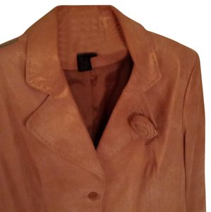 C&E studio R N 93641 Shell Genuine Suede Leather Jacket