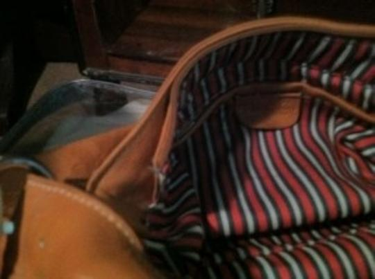 Gucci vintage Gucci 1980 or 90's made in Italy with Gucci striped lining. Near mint.