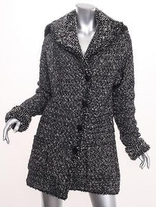 Chanel Cashmere Boucle Sweater Coat