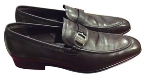 Salvatore Ferragamo dark Brown Flats