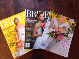 3 Bridal Magazines 2013 (magazine Bundle)