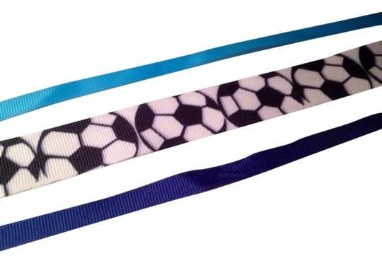 Other Soccer Themed and Blue Hair Ribbons