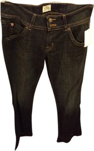 Hudson Jeans Wash Denim Designer Boot Cut Jeans-Dark Rinse
