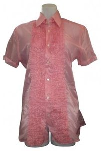 Prada Button Down Shirt Pink