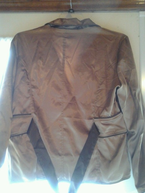 Misha Misha Bronze Womens Jacket or Top with Embroidery & Sequins Image 4