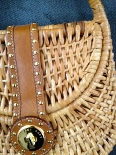 Michael Kors Tote in Woven Basket