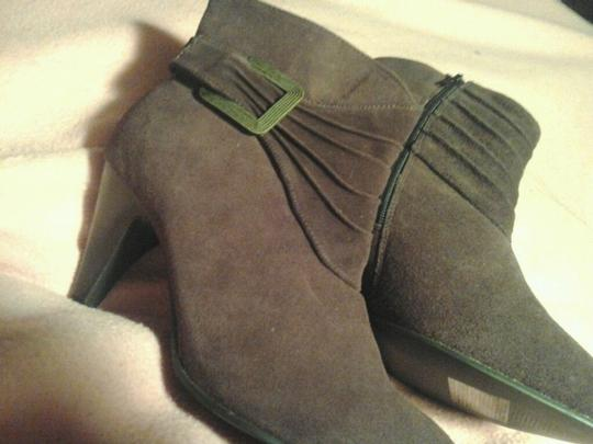 Avon Never Been Eggplant Fun Casual Fllirty Purple Boots Image 3