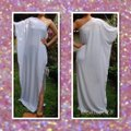 White Maxi Dress by Other Maxi Plus Size Gown One Shoulder Curvy Image 1