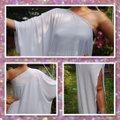 White Maxi Dress by Other Maxi Plus Size Gown One Shoulder Curvy Image 2