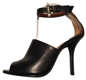 Givenchy Sandal Pump Ankle Strap Black Pumps