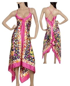 rose pink Maxi Dress by Scarf Dress