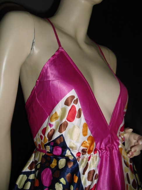 rose pink Maxi Dress by Scarf Dress Image 4