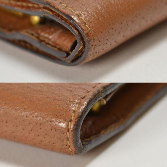 Gucci [Authentic] GUCCI Leather 035 661 Fold wallet Image 1