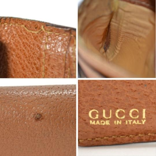 Gucci [Authentic] GUCCI Leather 035 661 Fold wallet Image 3