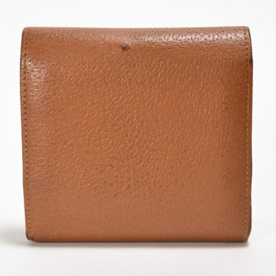 Gucci [Authentic] GUCCI Leather 035 661 Fold wallet Image 4
